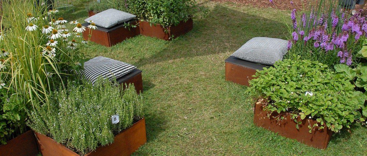 Klassiske Land Classic plantekasser fra LandHage.no
